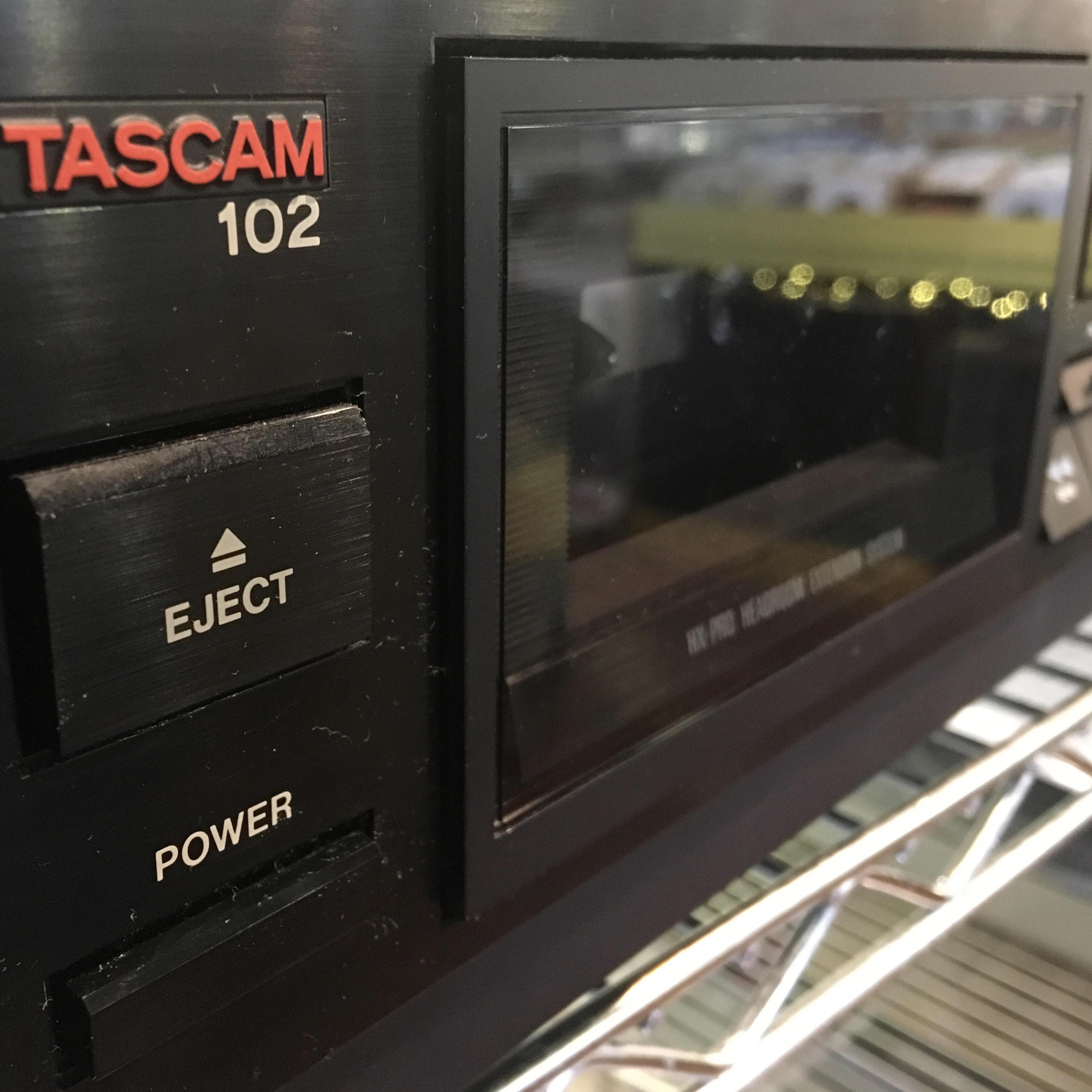 TASCAM 102 CASSETTE DECK! – Horizon Records
