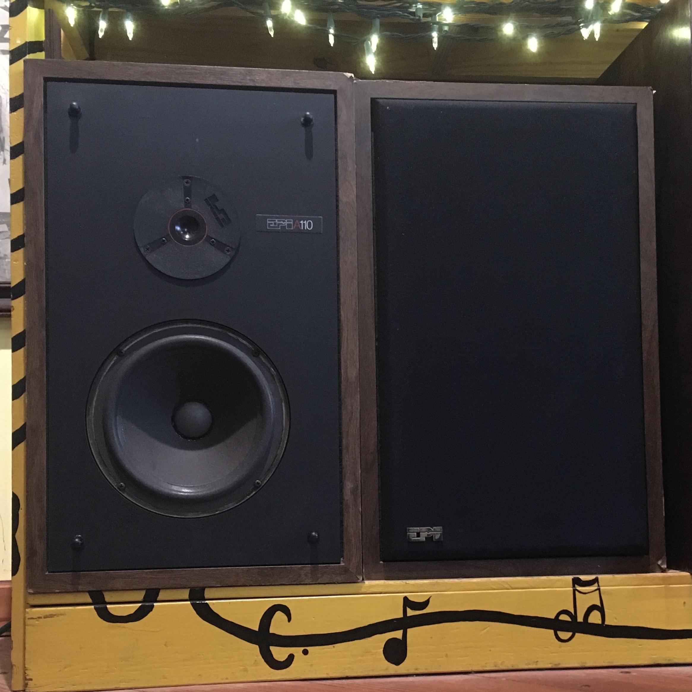 EPI A110 SPEAKERS: 2-way, classic bookshelf charmers! Sound