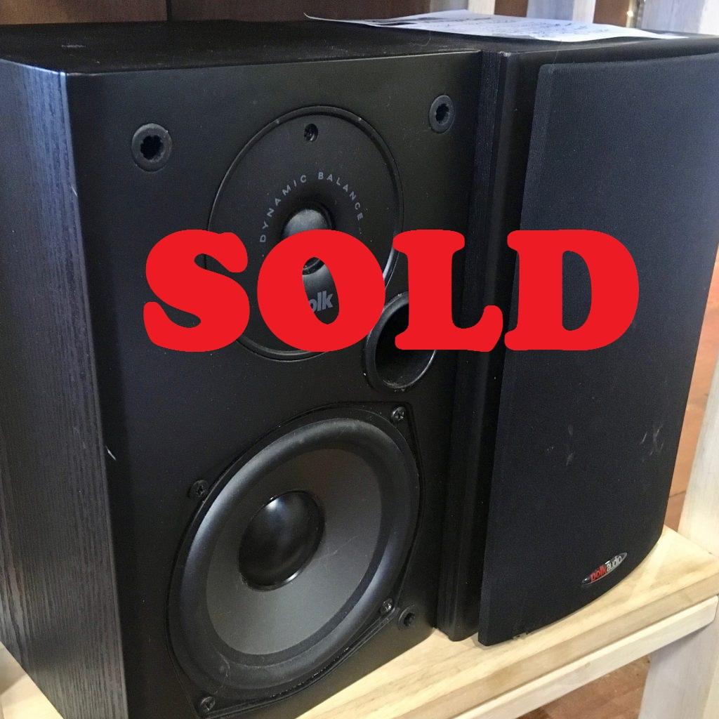 Polk Audio T15 Bookshelf Speakers 2 Way Plus Bass Port