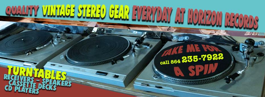 Vintage Gear – Horizon Records